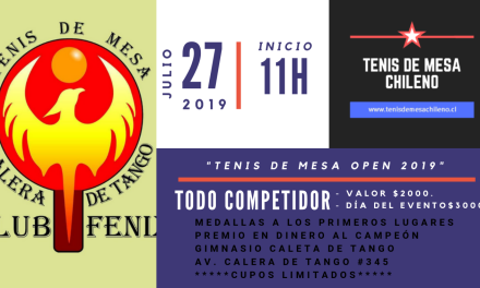 El Club Deportivo de Tenis de Mesa Fenix de Calera de Tango