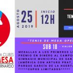 Asociación Deportiva de Clubes de Tenis de Mesa de San Bernardo